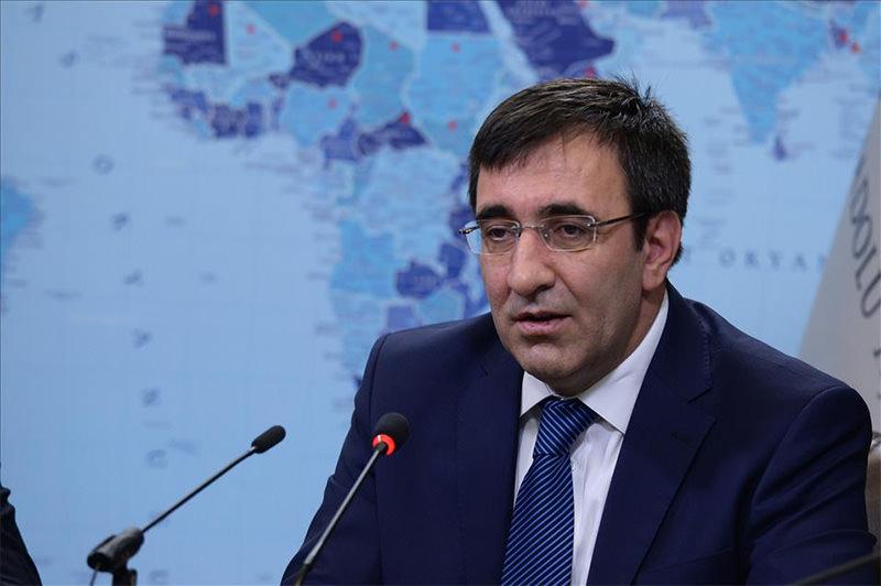Turkish Development Minister Cevdet Yu0131lmaz (AA Photo)