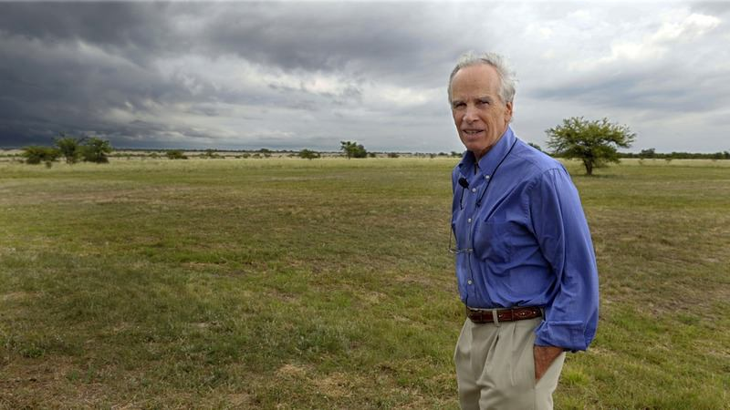 Douglas Tompkins poses in his property in Ibera, near Carlos Pellegrini in Corrientes Province, Argentina in 2009. (AFP Photo)