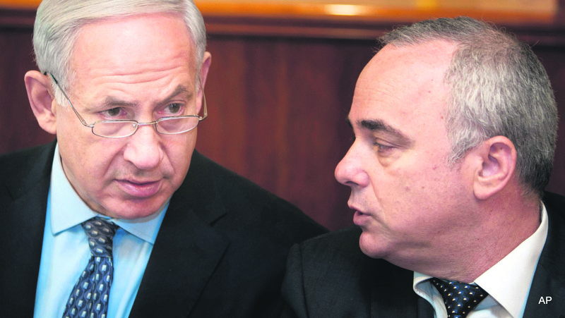 Israeli Prime Minister Benjamin Netanyahu and Energy Minister Yuval Steinitz support the plan to sell gas to Jordan.