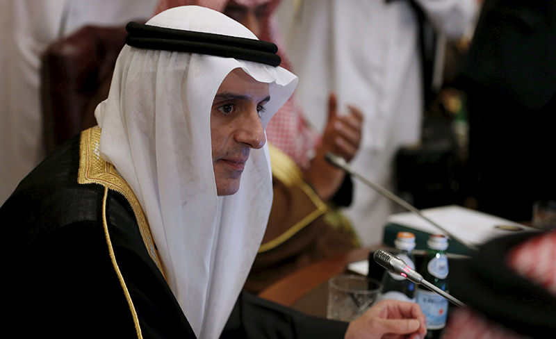 Saudi Arabia's Foreign Minister Adel al-Jubeir attends a meeting for Gulf states Foreign Ministers in Riyadh, December 7, 2015 (Reuters Photo)
