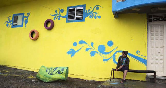 Better Gaza\' street art campaign brightens Palestinian refugee camp ...
