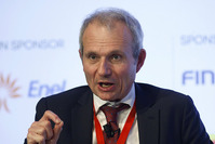 Britain's Minister for Europe David Lidington speaks during the Rome 2015 MED, Mediterranean dialogues forum in Rome, Italy, December 10, 2015 (Reuters Photo)