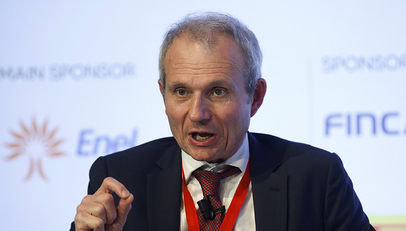 Britain's Minister for Europe David Lidington speaks during the ,Rome 2015 MED, Mediterranean dialogues, forum in Rome, Italy, December 10, 2015 (Reuters Photo)