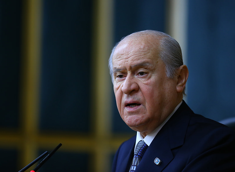 Nationalist Movement Party leader Devlet Bahu00e7eli (AA Photo)