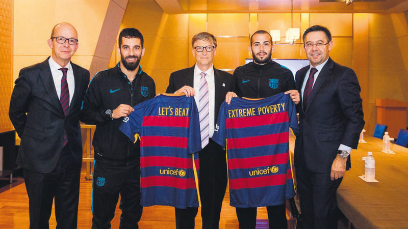 916a086afb8 Barcelona, Gates fight against poverty - Daily Sabah