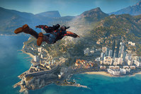This image provided by Avalanche Studios shows a scene from the video game, Just Cause 3. (AP Photo)
