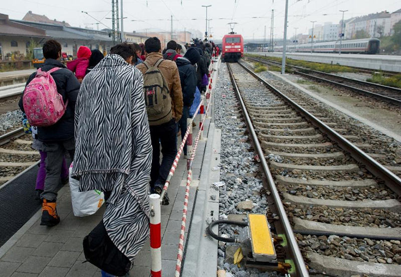 Germany registered more than 758,000 asylum seekers from January to October this year, the interior ministry says (AFP Photo)