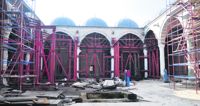 Ottoman sanatorium under meticulous restoration