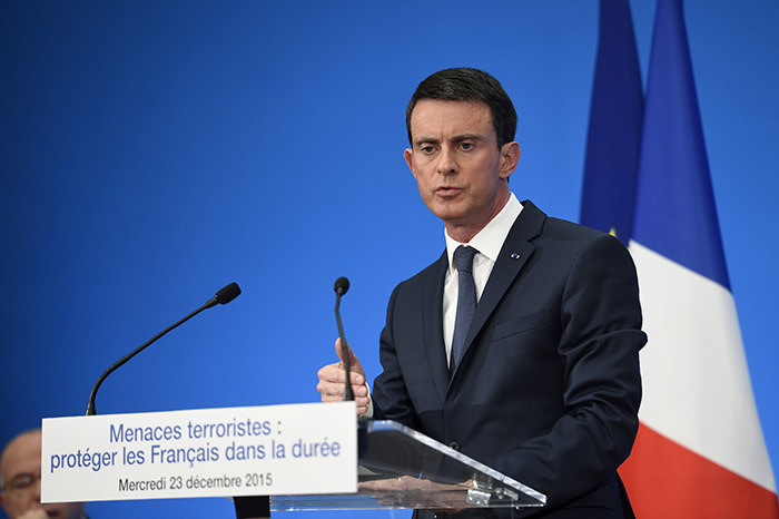 French Prime Minister Manuel Valls (Reuters Photo)