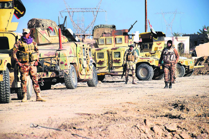 Iraqi soldiers have launched an operation to re-capture Ramadi from DAESH.