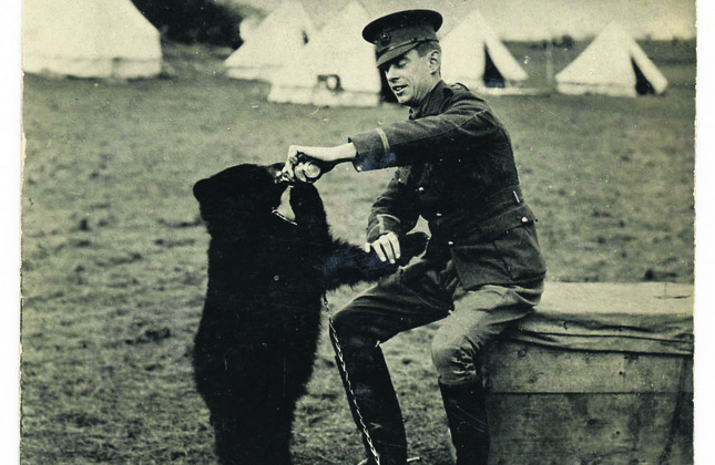 New book chronicles real bear behind Winnie the Pooh