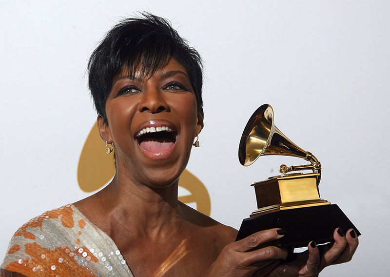 Natalie Cole, the daughter of jazz legend Nat 'King' Cole, has died at age 65, reports said on January 1, 2016. (AP Photo)