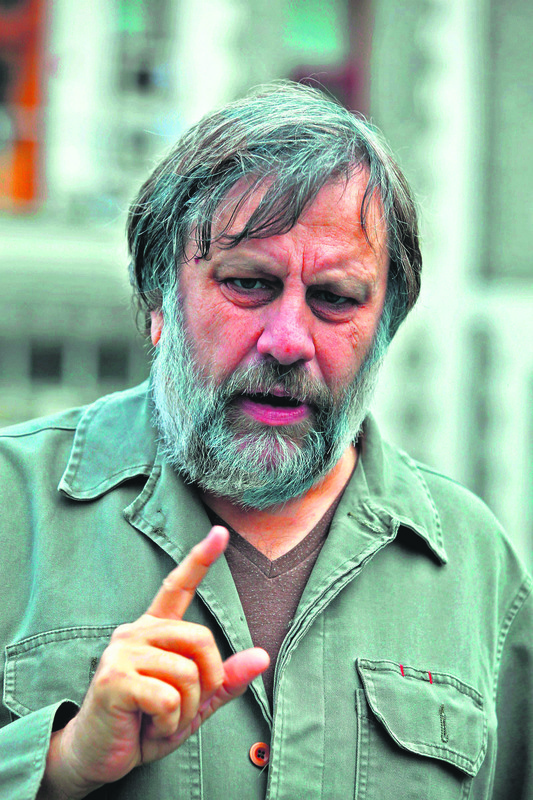 God bless you, Mr Zizek. We forgive you for being too attached to ...