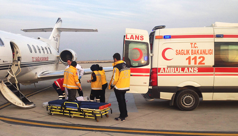 Health ministry also uses helicopters and flights to reach patients who are located in remote areas (Sabah Photo)