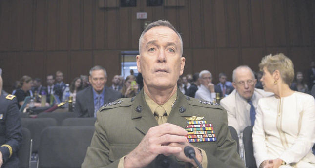 Ankara's agenda occupied with visit from top US military official