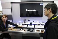 A Panasonic representative speaks about Panasonic Smart Home devices at CES International Wednesday, Jan. 6, 2016, in Las Vegas (AP Photo)