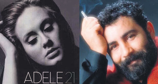 Turkish musical authority claims Adele's song technically similar to Ahmet Kaya's