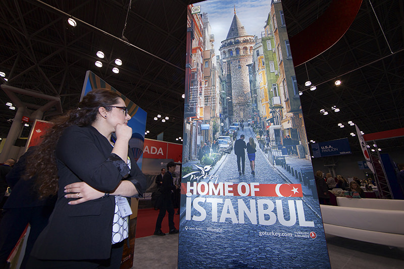 Turkey was awarded 'Best in Show' in The New York Times Travel Show, (AA Photo)