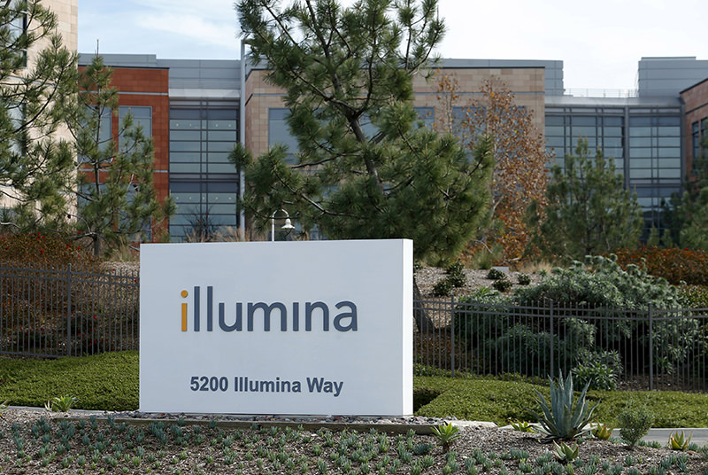 The offices of gene sequencing company Illumina Inc are shown in San Diego, California January 11, 2016. (REUTERS Photo)