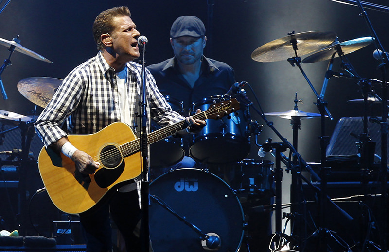 Guitarist Glenn Frey, a founding member of rock band the Eagles, died in New York on January 18, 2016 at age 67. (REUTERS Photo)