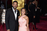 The file picture dated 02 March 2014 shows US actors Will Smith (L) and his wife Jada Pinkett Smith arriving for the 86th annual Academy Awards. (EPA Photo)