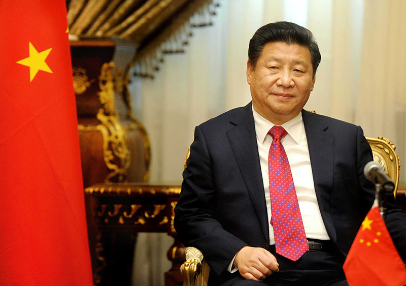 Chinese President Xi Jinping visits the parliament in Cairo, Egypt, Jan. 21, 2016. Jinping (AP photo)