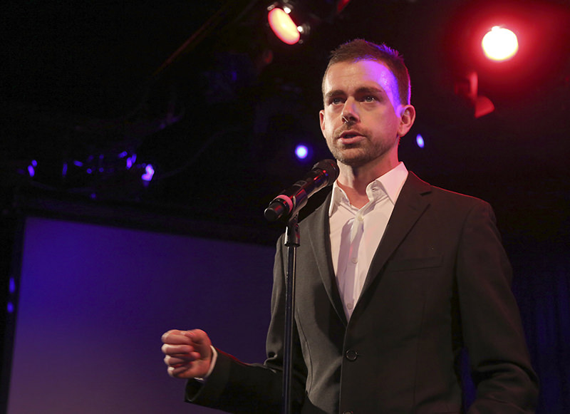 In this Wednesday, April 24, 2013, file photo, Twitter co-founder Jack Dorsey speaks at a fundraiser in New York. (AP Photo)