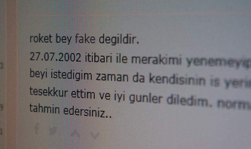 Mr. Roket is not fake, the beginning of one of the earlier posts about Roket Atar on Ekşi Sözlük reads. (AA Photo)