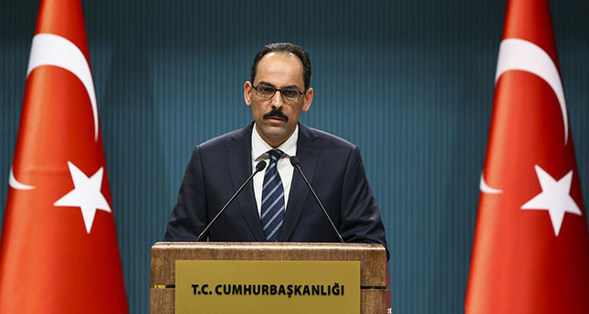 Presidential Spokesperson Ibrahim Kalın (AA Photo)