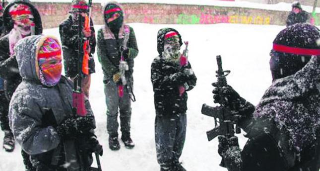 PKK's 'rifle games' with children a war crime