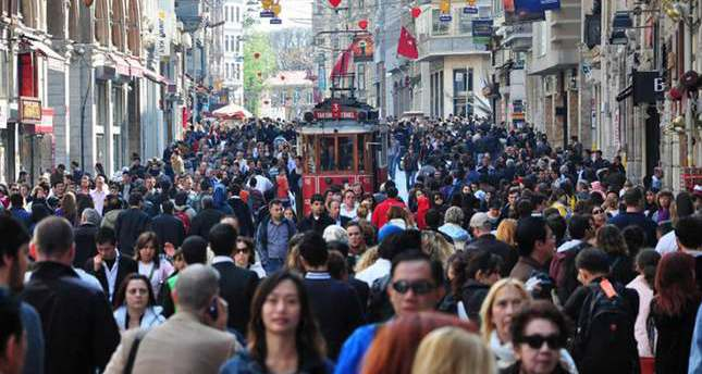 Turkey's population expanding, Istanbul still most crowded city