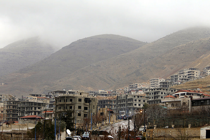 A general view shows the town of Madaya, Syria, January 14, 2016 (Reuters Photo)
