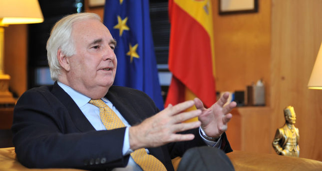Spanish Ambassador: Spain's non-removal of Patriot missiles shows proof of solidarity with Turkey