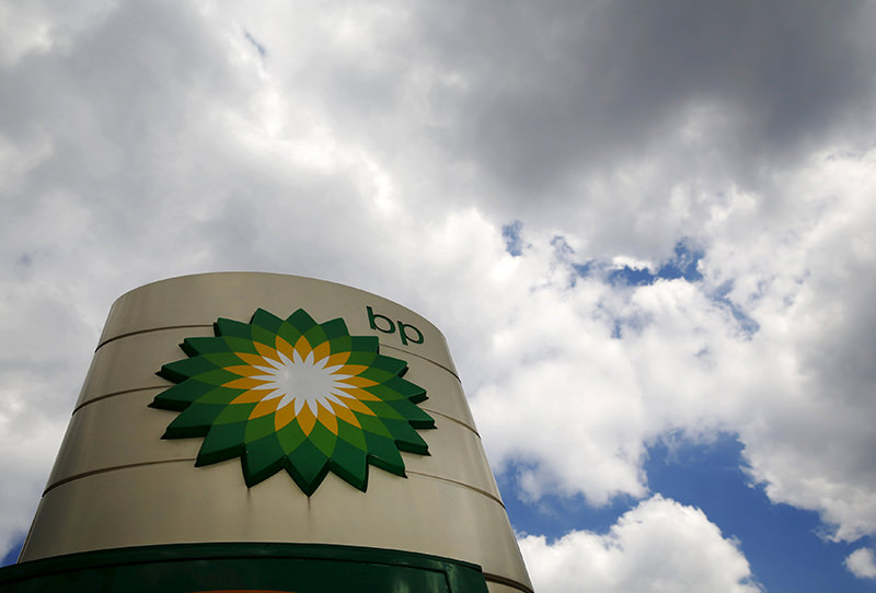 Signage for a BP petrol station is pictured in London, in this file picture taken July 29, 2014. (REUTERS Photo)