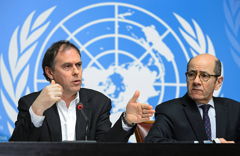 UN rights chief expressed alarm at new allegations of child abuse by foreign peacekeepers in the troubled Central African Republic. (AFP Photo)