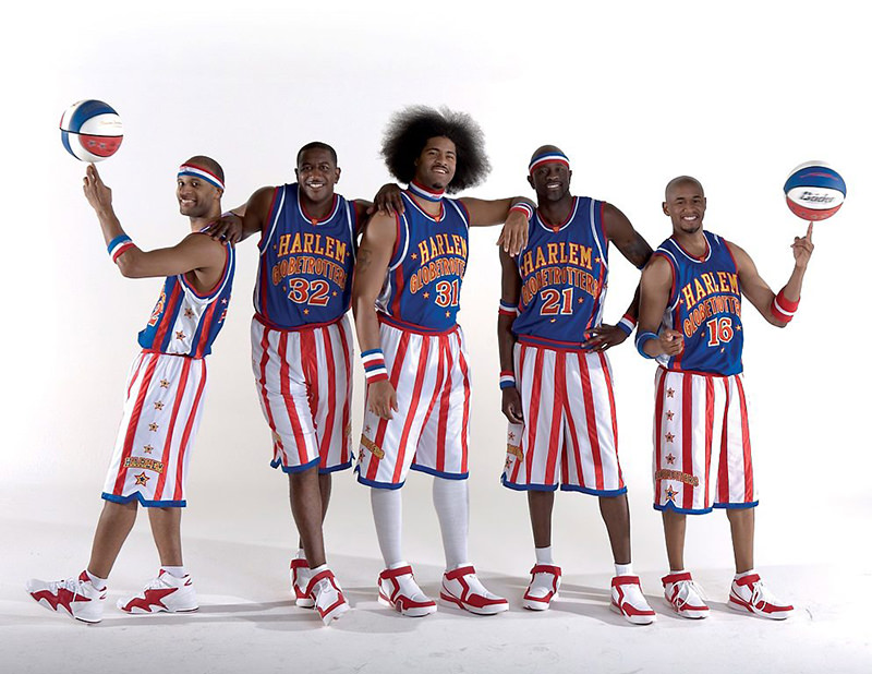The Harlem Globetrotters. (FILE Photo)