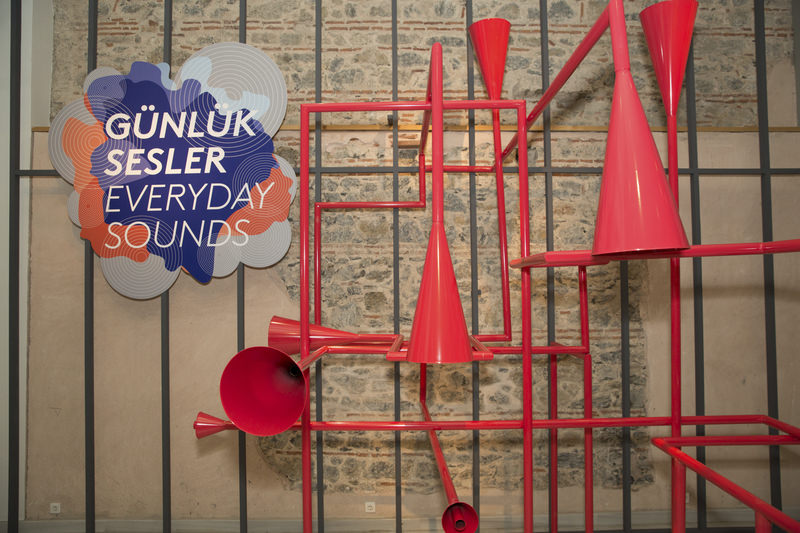 ANAMED's new ,Everyday Sounds, installation consists of numerous switches that turn on or mute Istanbul's daily sounds.
