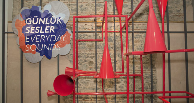 ANAMED's new Everyday Sounds installation consists of numerous switches that turn on or mute Istanbul's daily sounds.