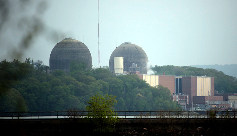 The Indian Point energy center in Buchanan, New York (AP Photo)