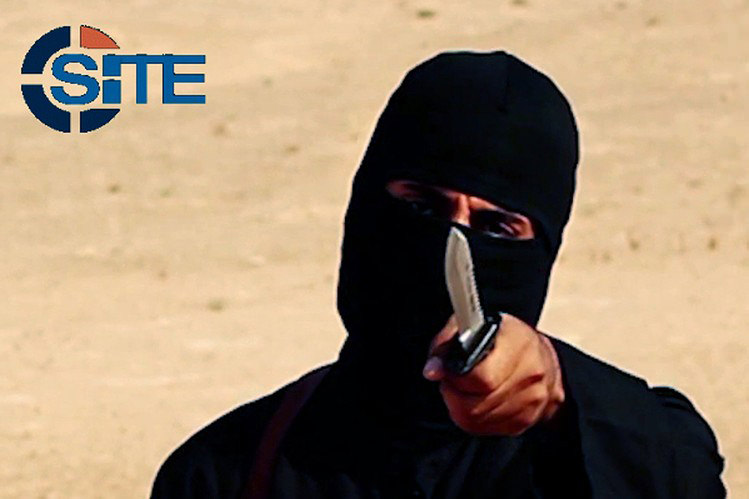 This image made from militant video, which has been verified by SITE Intelligence Group, shows Mohammed Emwazi, known as ,Jihadi Johnu201d. (AP Photo)