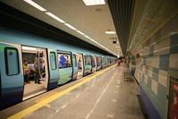 Photo shows the Kadıköy-Kartal metro line in Istanbul. (FILE Photo)