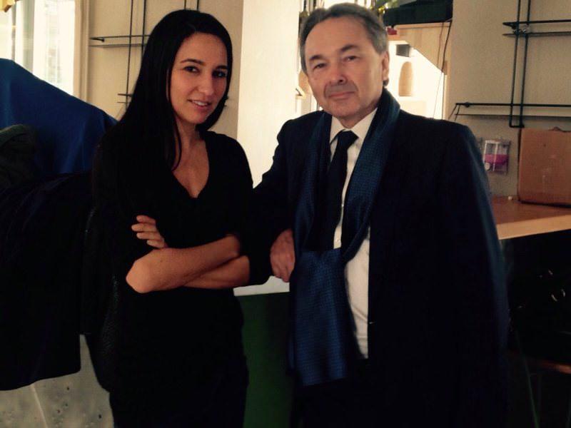 French Professor Gilles Kepel (R) spoke to Daily Sabah's Duygu Lelou011flu.