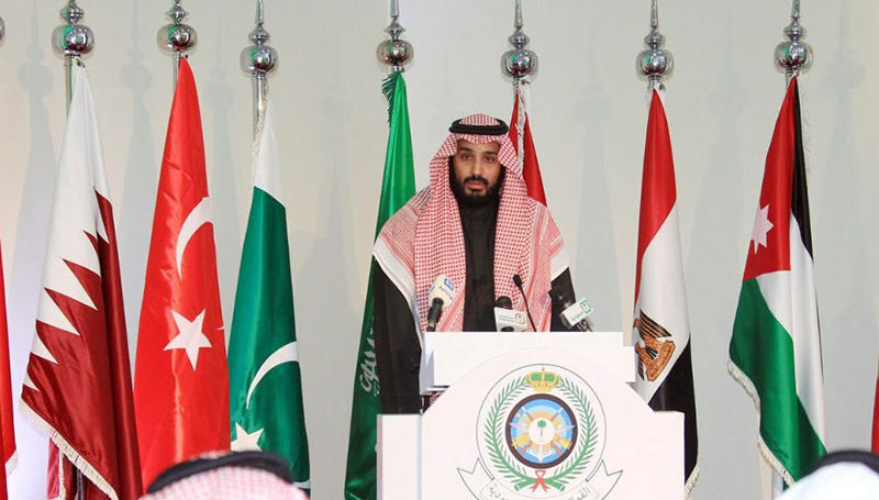 Saudi Deputy Crown Prince and Defence Minister Mohammed bin Salman speaks during a news conference in Riyadh December 15, 2015 (Reuters Photo)