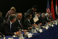 FM Çavuşoğlu [second from the left] in the Munich Security Conference (AA photo)