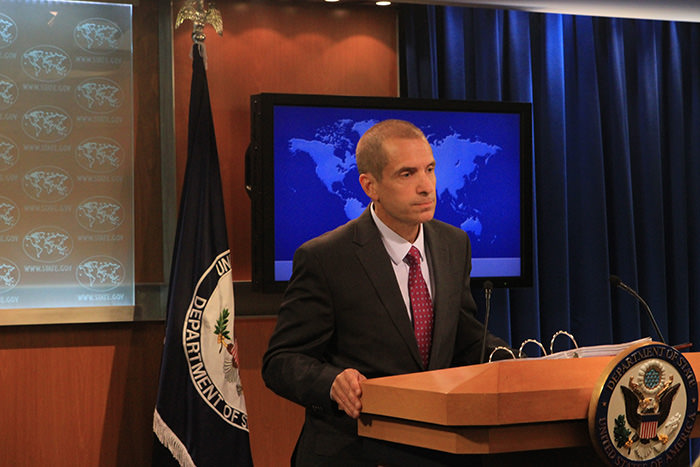 U.S. State Department Spokesperson Mark Toner (AA Photo)