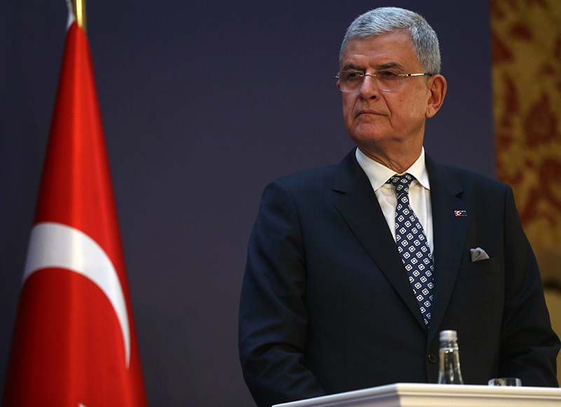 Turkey's EU Minister Volkan Bozkir (AFP Photo)
