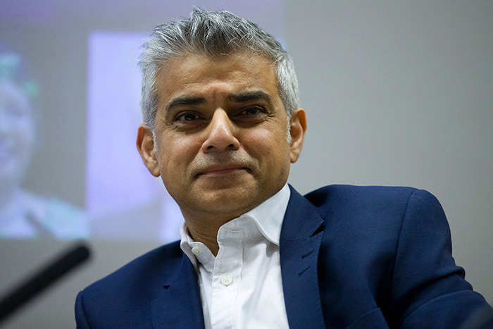 British opposition Labour party MP for Tooting and candidate for Mayor of London, Sadiq Khan (AFP Photo)