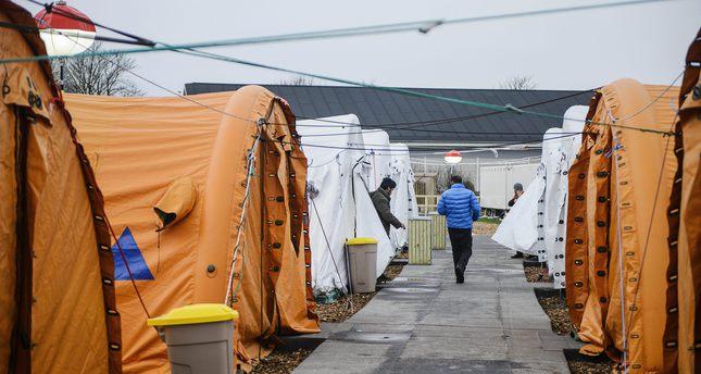 No room for refugees in Denmark, except refugee villages