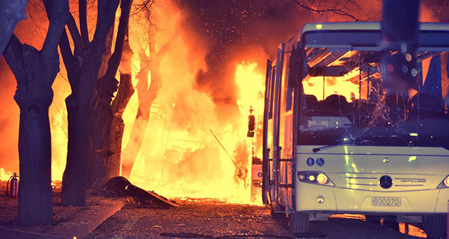Initial signs point to PKK terrorists behind Ankara bombing: Reuters