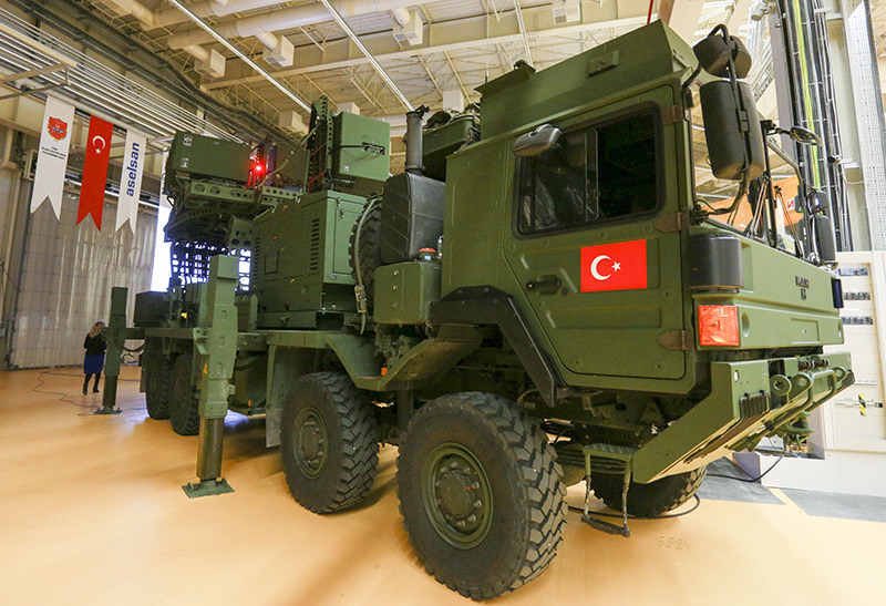ASELSAN has locally produced the KORAL warfare system which willbe used by the Turkish Air Force and will be able to jam hostile radars. (AA Photo)